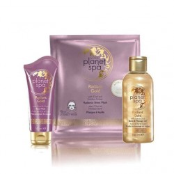 Radiant Gold Planet Spa Pack