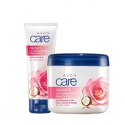 Rosas y karité Avon Care