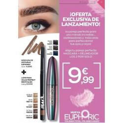 Mascara Euphoric + Lapiz para cejas