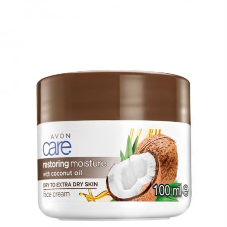 Crema Facial Aceite de Coco Avon Care 100ml