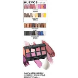 Paleta de sombras de ojos 8 en 1 de Avon True Perfect Wear