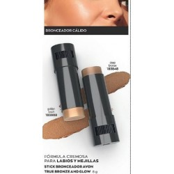 Stick Bronceador Avon True Bronze and Glow