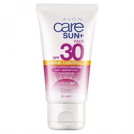 Crema Solar Facial sin Aceite SPF 30 Avon Care Sun+