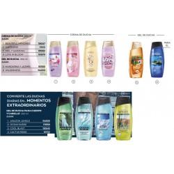 Gel y Crema de ducha Senses Avon 250ml
