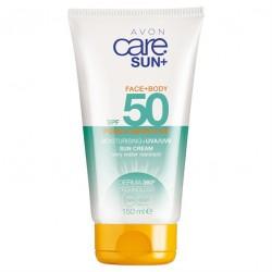 Loción Solar para Cuerpo y Rostro Pure & Sensitive SPF 50 Avon Care Sun