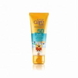 Crema Solar para Bebés y Niños SPF 50 Avon Care Sun+ Kids & Baby