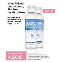 Pack de dos Gel Hidratante para Higiene de Manos viaje 100 ml
