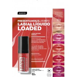 Laca de Labios Loaded Avon True