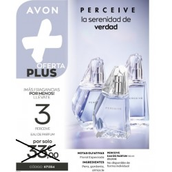 Oferta Plus 3x1 Perceive