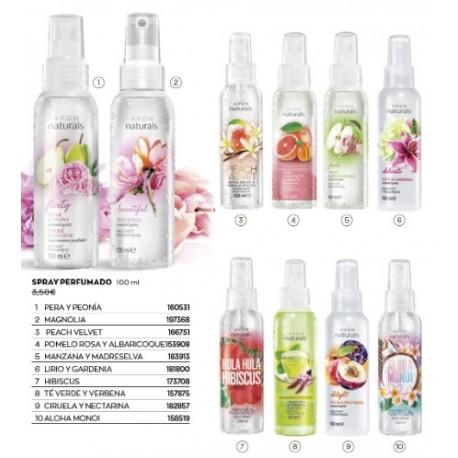 Spray Corporal Perfumados Avon Naturals