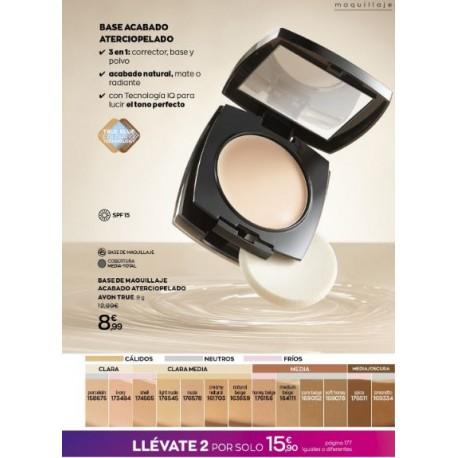 Maquillaje aterciopelado 2x15,90