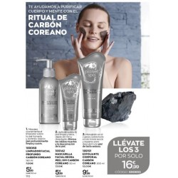 Pack Charcoal Planet spa