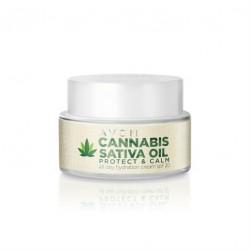 Crema Hidratante SPF 30 con Aceite de Cannabis Sativa