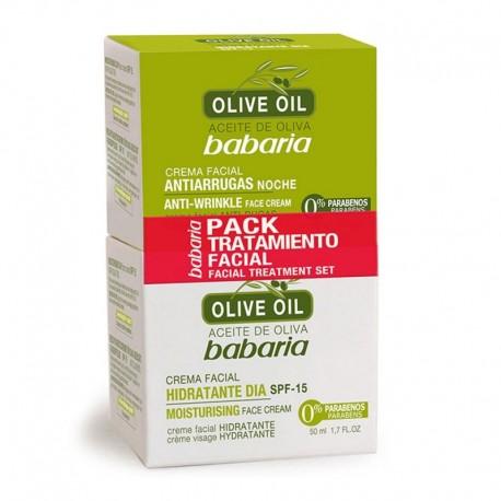 Pack Tratamiento Facial Aceite de Oliva