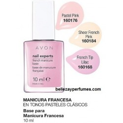 Base para Manicura Francesa Avon nail experts