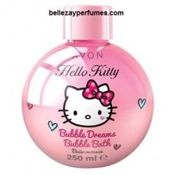 Hello Kitty Espuma de baño Bubble Dreams Avon