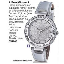 Reloj Giovanni Avon