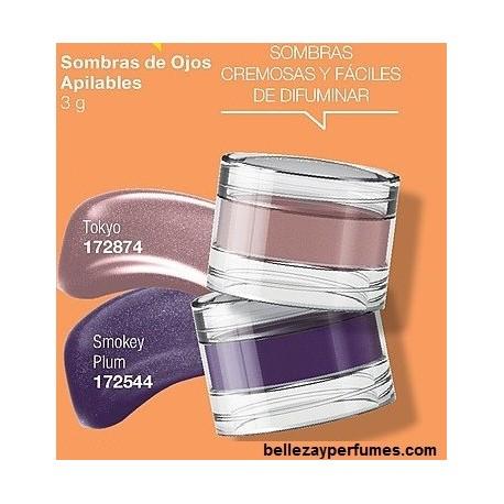 Sombras de ojos apilables Avon Color Trend