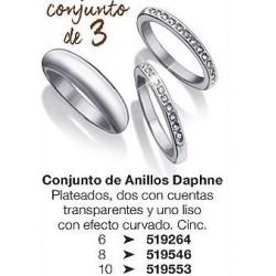 Conjunto de anillos Daphne Avon