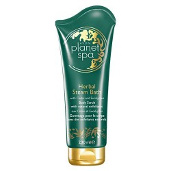 Exfoliante corporal Herbal Steam Bath Avon planet spa