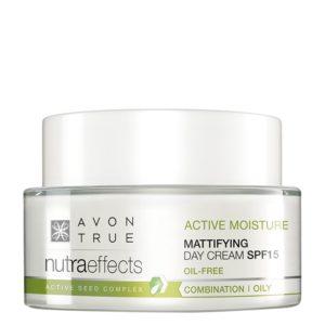 Crema de día Matificante SPF15 Nutra Effects Balance Avon