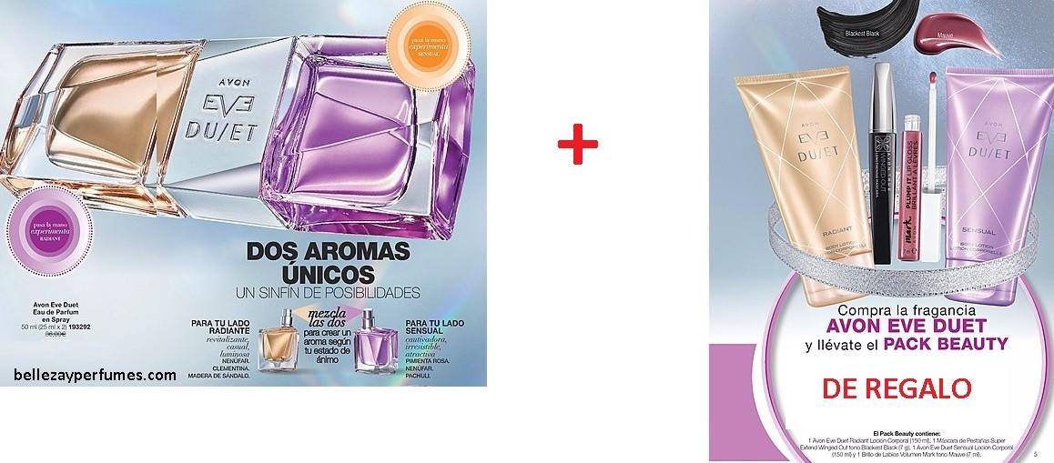 Nueva fragancia con dos aromas para combinar Avon Duet