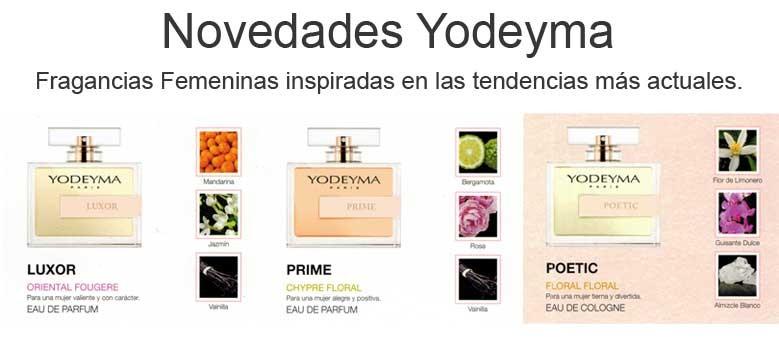 Novedades Yodeyma - Fragancias Femeninas