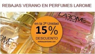Perfumes Larome - Rebajas de Verano